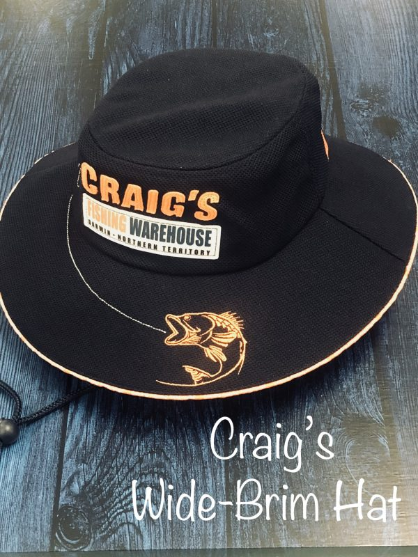 01d2984fc825e Craig s BIGFISH Wide Full Brim Hat